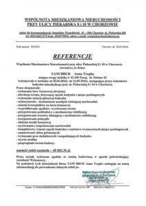 referencje wspólnota chorzow